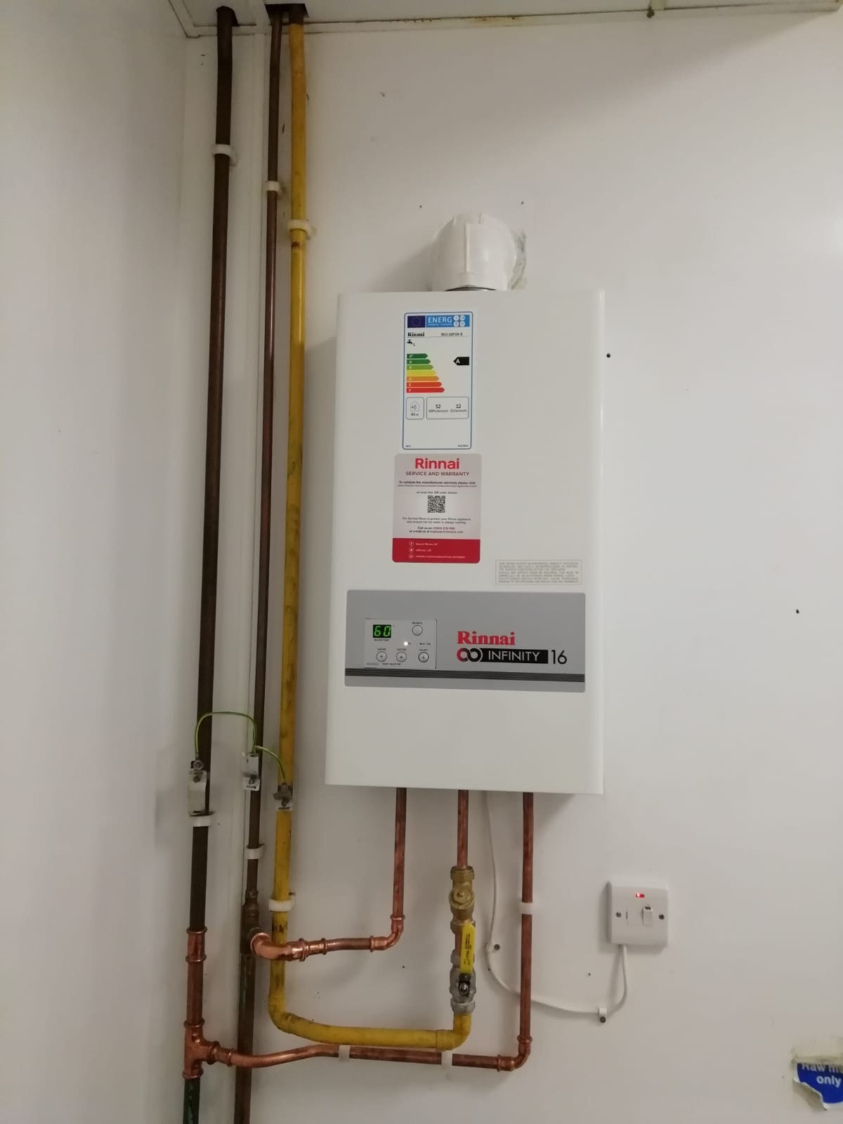 Installation of Commercial Gas Heater
