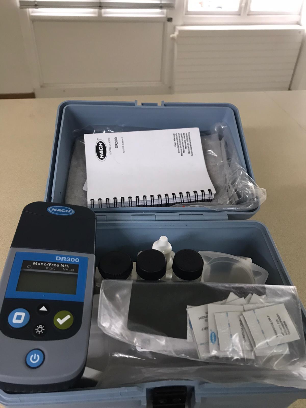 Water Treatment Monochloramine Testing