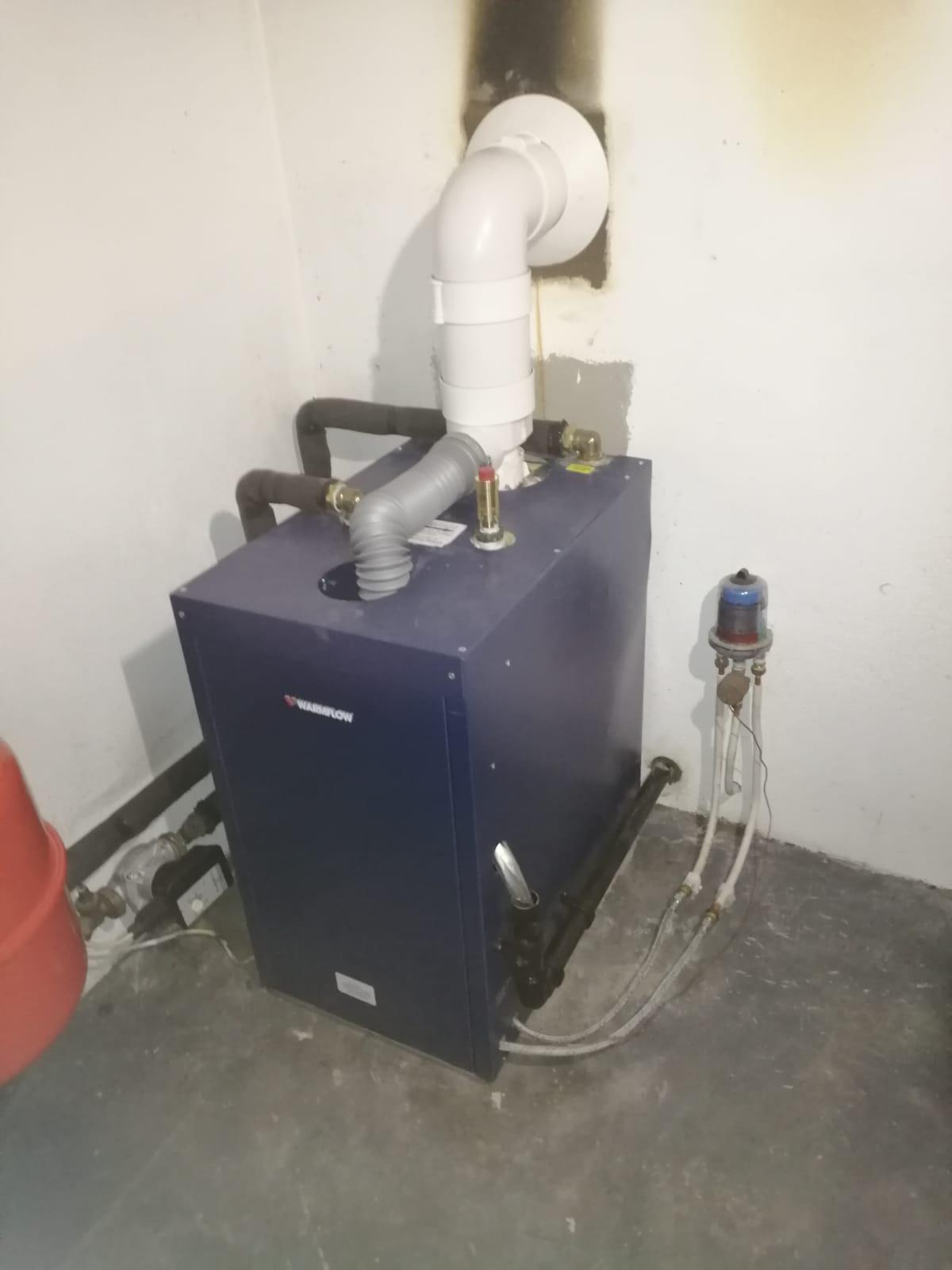 New Boiler and Oil Tank Installation