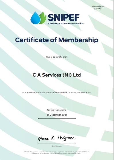 C A Services Accreditations