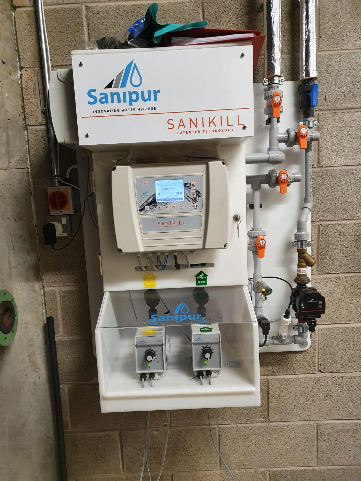 Monthly Checks on our Sanipur monochloramine water treatment units
