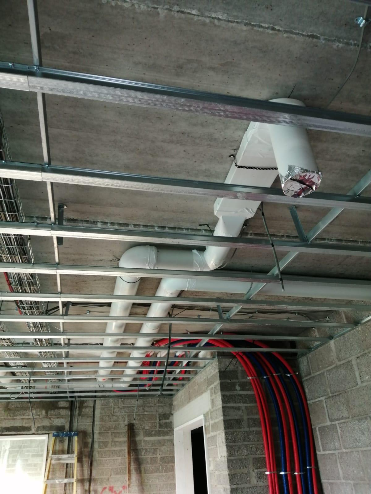 Full mechanical works carried out on New Build