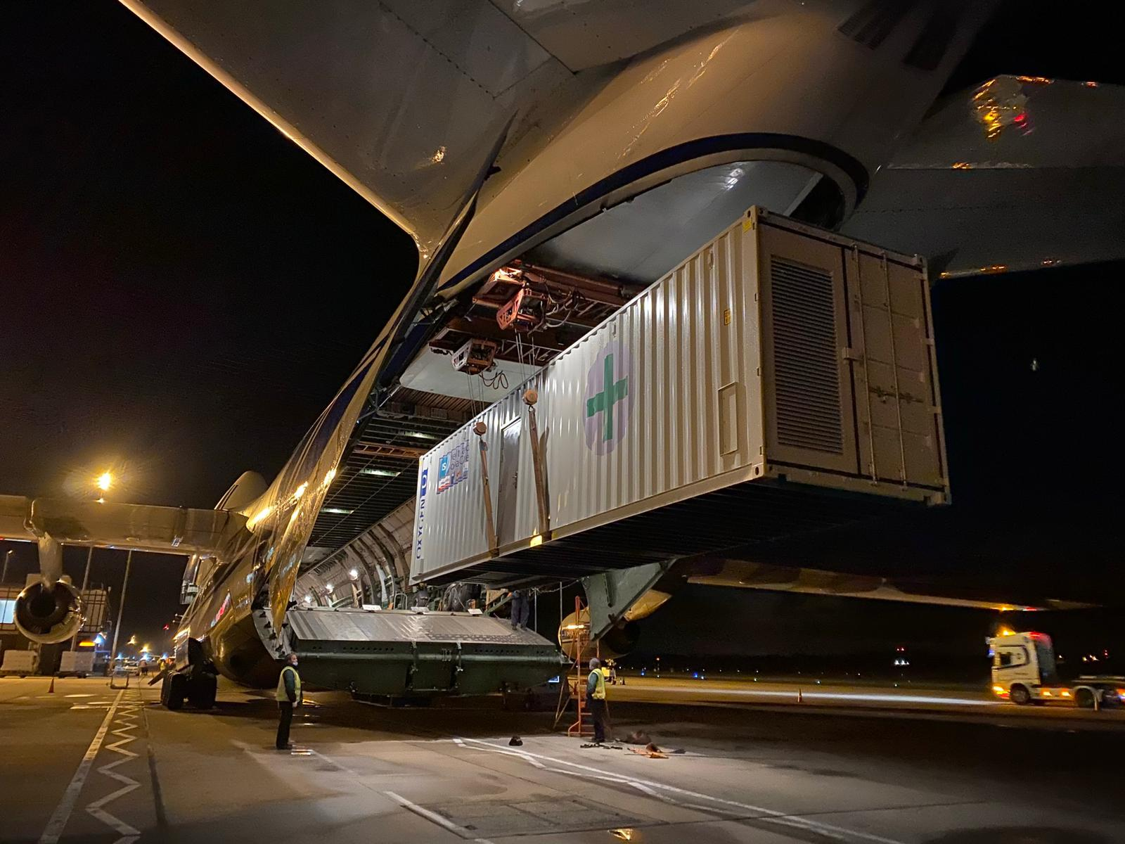 Oxygen Generating Units dispatched to India